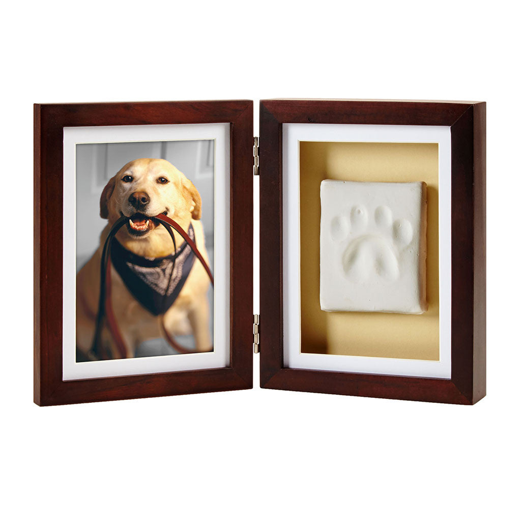 pearheads pawprints desk frame - Dog Picture Frame