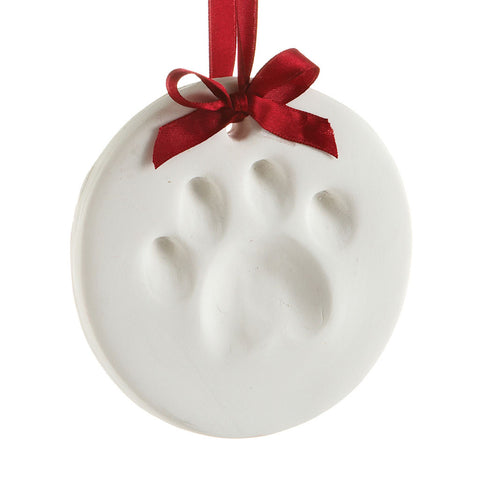 pawprints ornament
