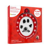 pearhead's pawprints photo ornament