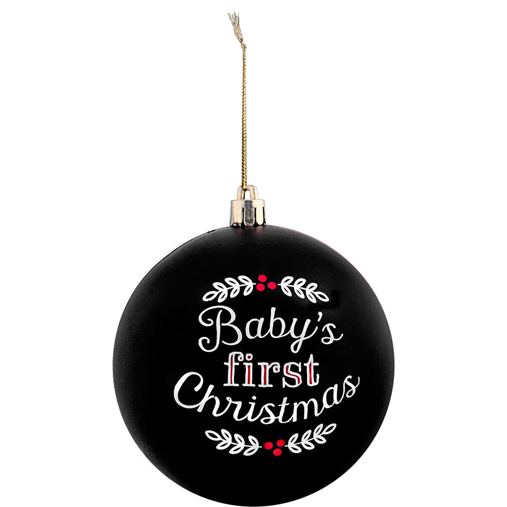 pearhead's baby's 1st Christmas ball ornament