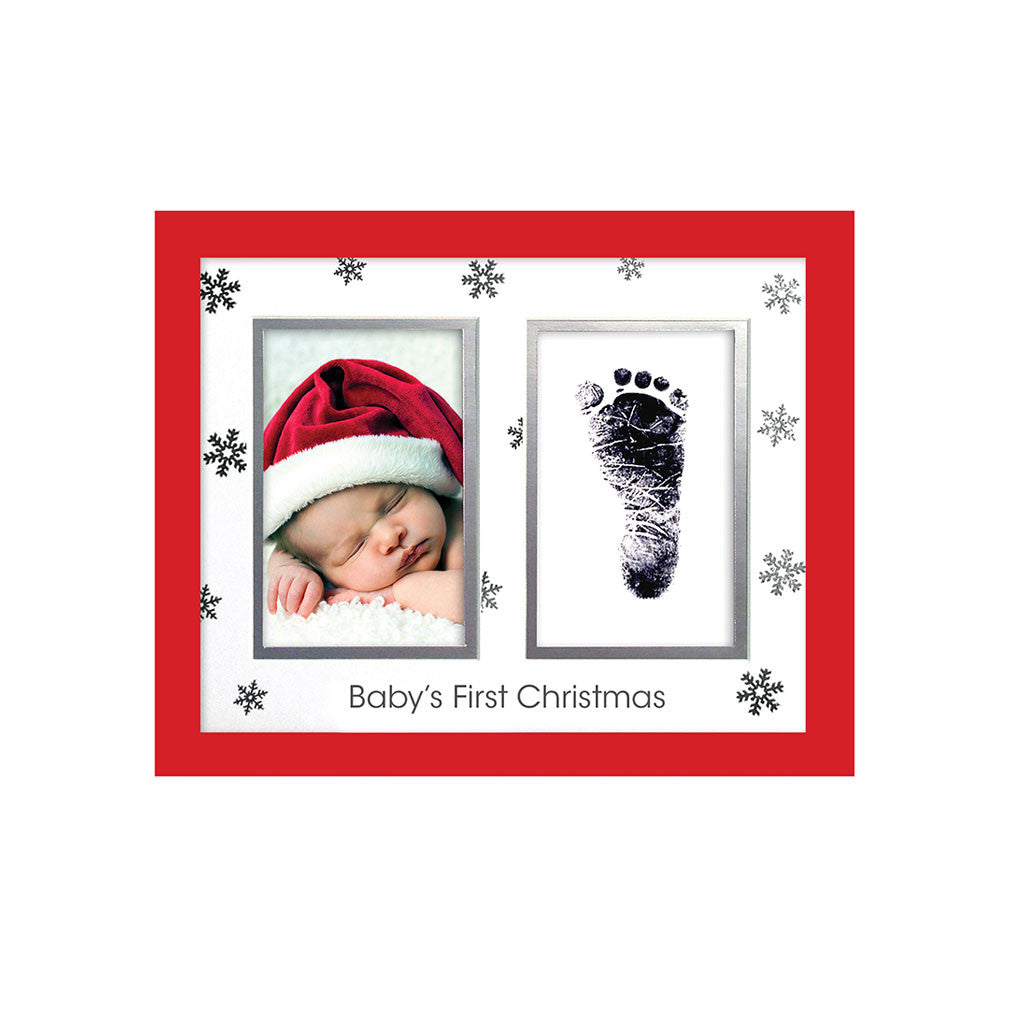 pearhead's babyprints Christmas Frame