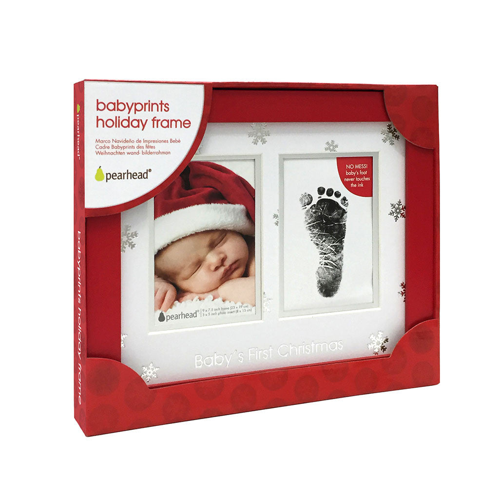 Babyprints holiday frame pearhead pearheads babyprints christmas frame jeuxipadfo Images
