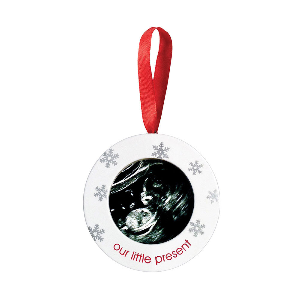 pearhead's sonogram ornament