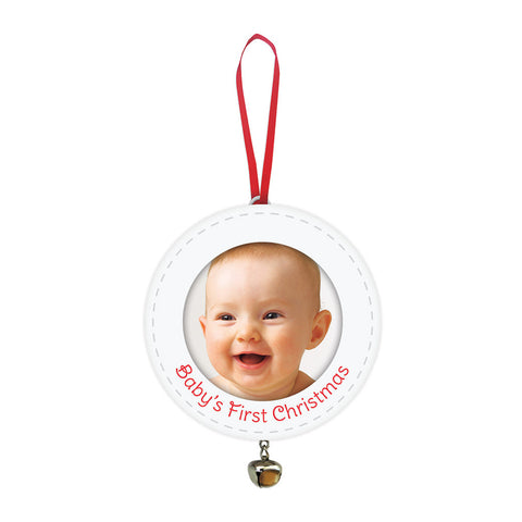 pearhead's baby's first ornament