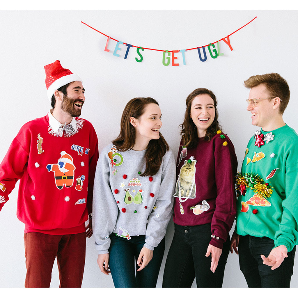 Ugly Sweater Decorating Kit Pearhead