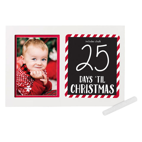 Pearhead's countdown to christmas frame