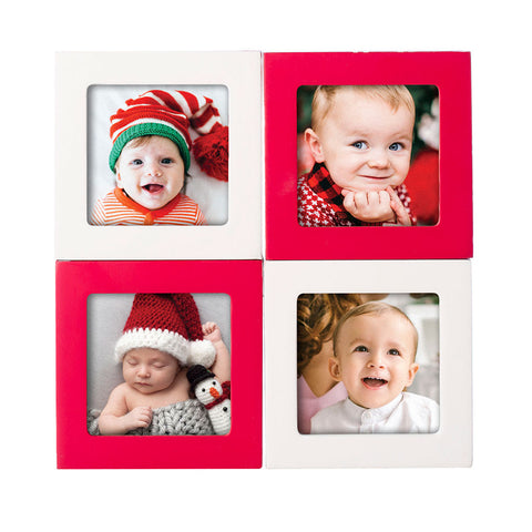 Pearhead's holiday photo blocks
