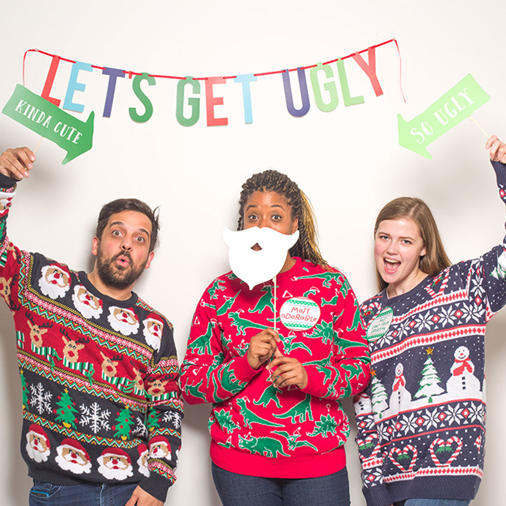 ugly sweater party kit \u2013 Pearhead