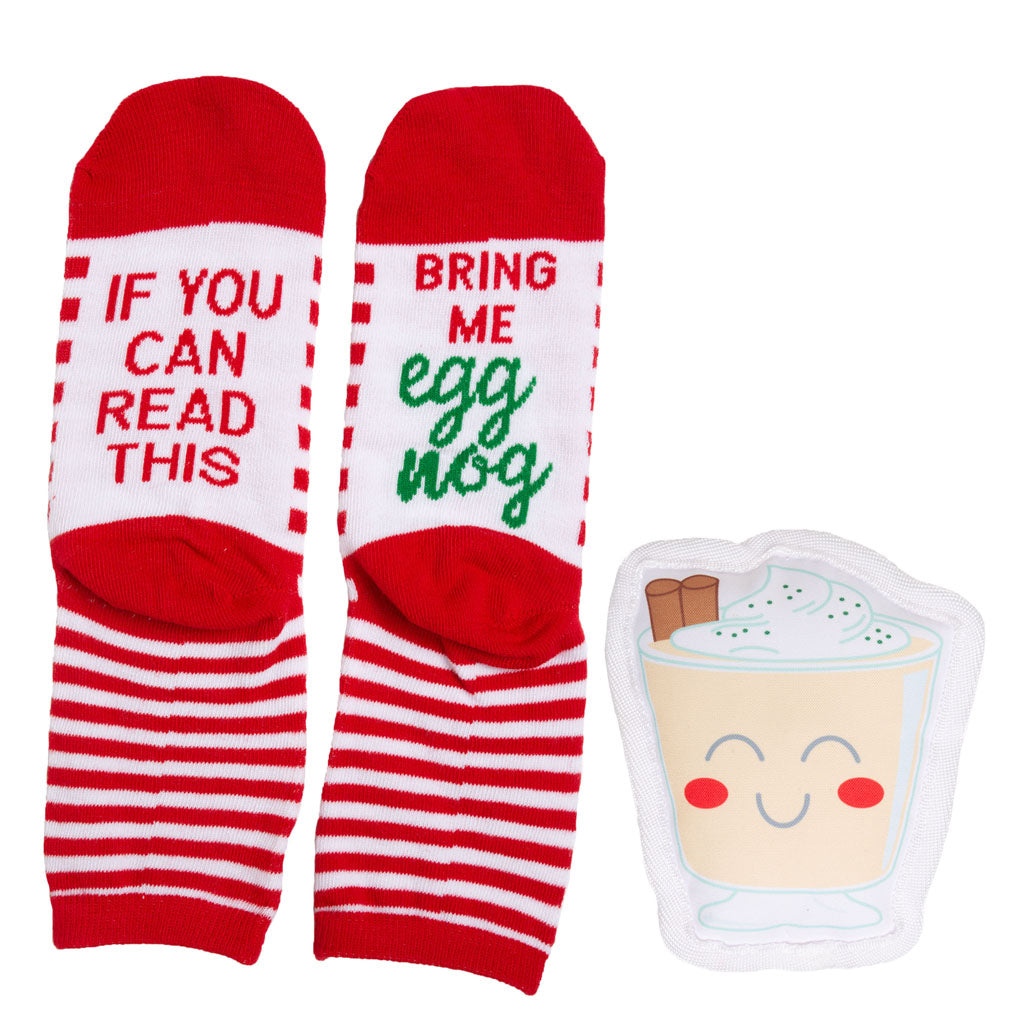 Pearhead's sock & dog toy set
