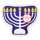 Pearhead's laura the menorah & friends dog toy