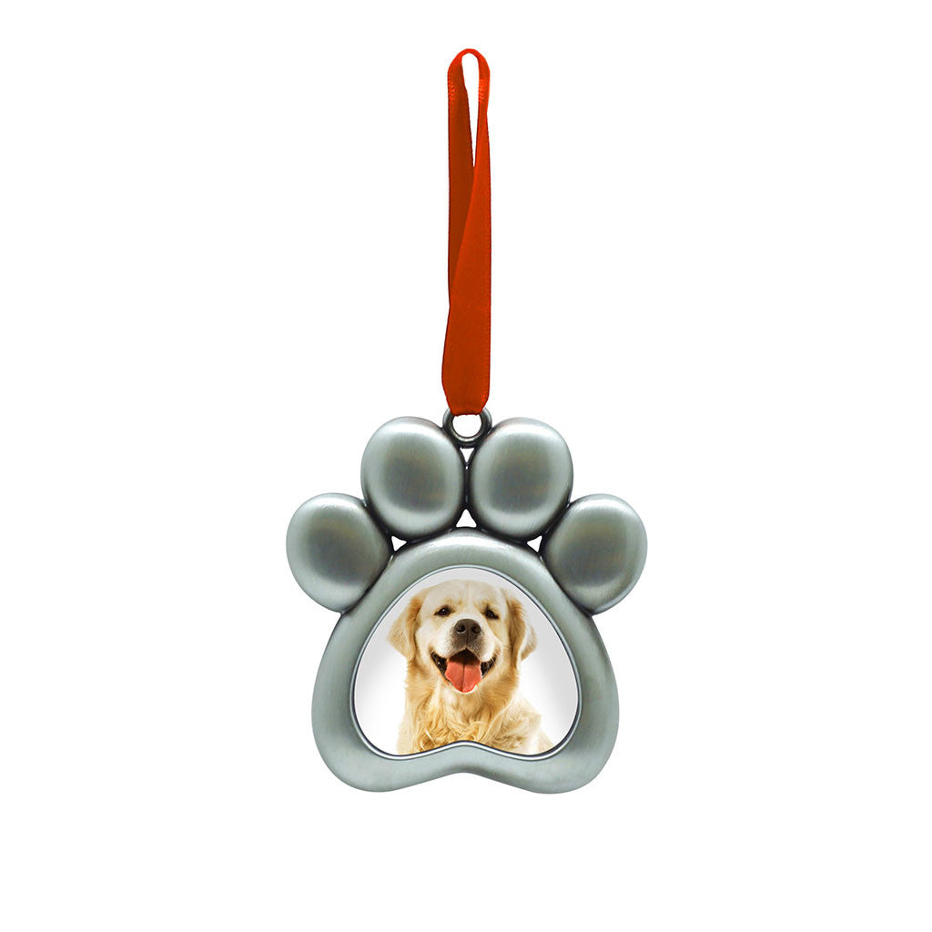 pearhead's pet photo ornament
