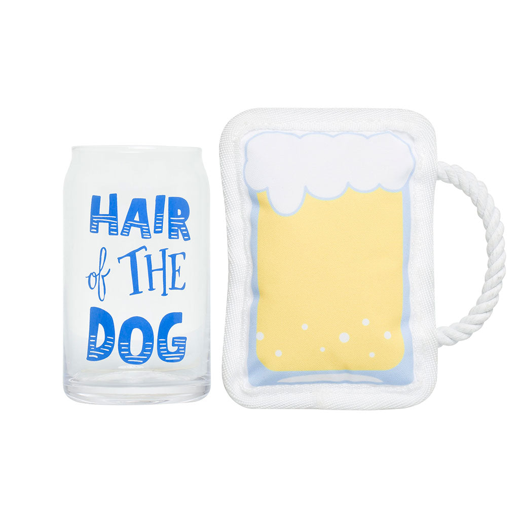 Pearhead's me and my pet drinking beer set
