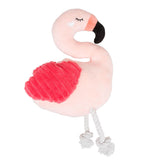 Pearhead's flamingo dog toy