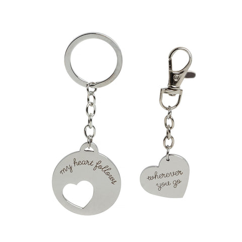 Pearhead's keychain and dog tag set