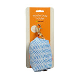Pearhead's pink & blue leaf waste bag holder