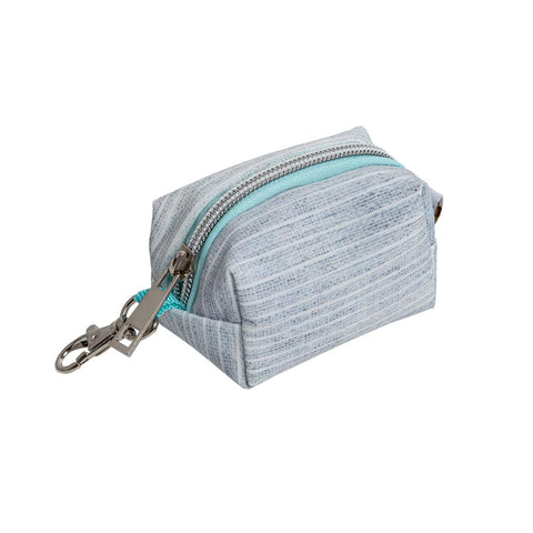 Pearhead's gray & blue waste bag holder