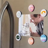 Pearhead's cat glass magnets