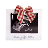 "Pearhead's ""best gift ever"" sonogram frame"