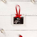 "Pearhead's ""best gift ever"" sonogram ornament"