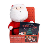 Pearhead's santa & board book set