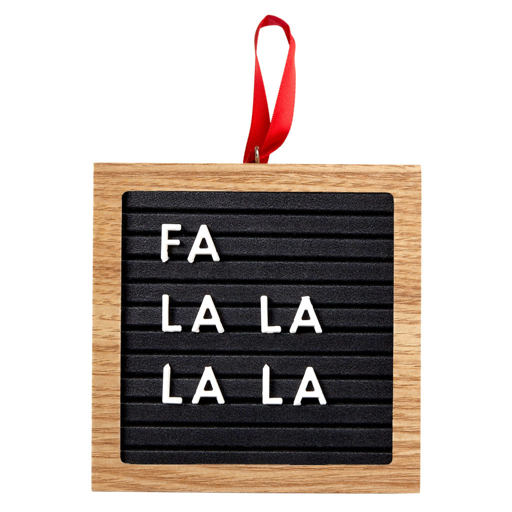 Pearhead's letterboard ornament set