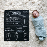 pearhead's all about baby chalkboard