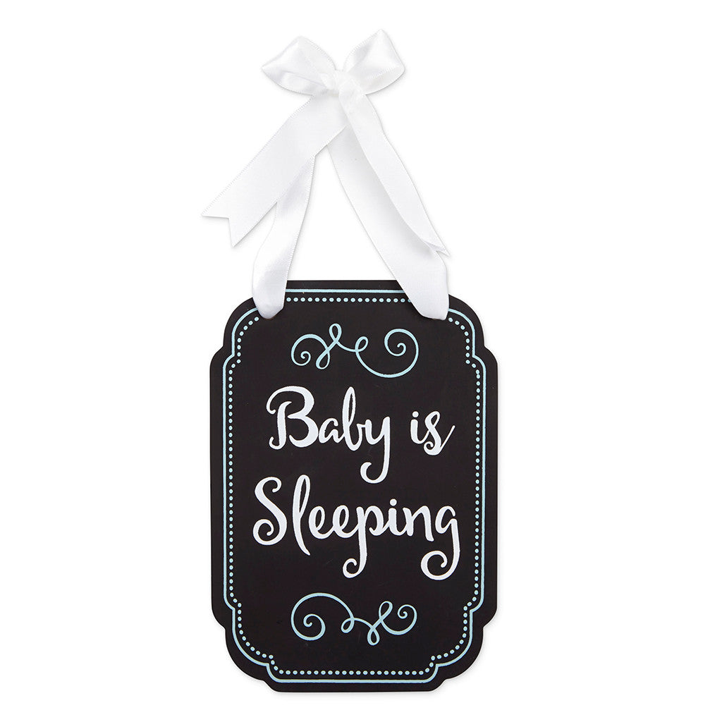pearhead's sleeping baby door hanger