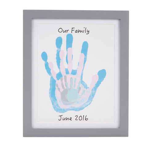 pearhead's our handprints frame