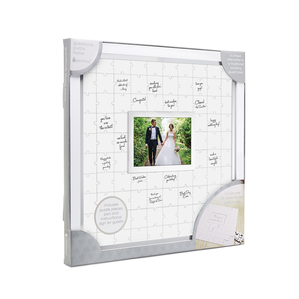 Guestbook puzzle frame pearhead pearheads guestbook puzzle frame jeuxipadfo Images