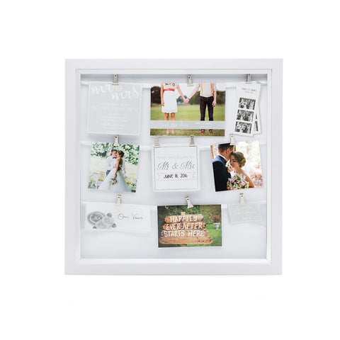 wedding memories collage frame