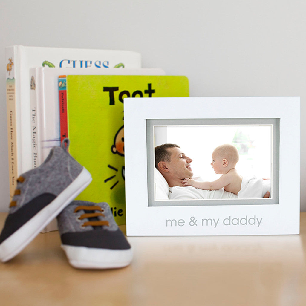 me & my daddy sentiment frame – Pearhead