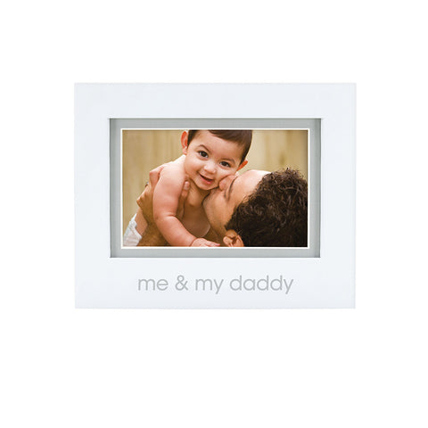 pearhead's me & my daddy sentiment frame