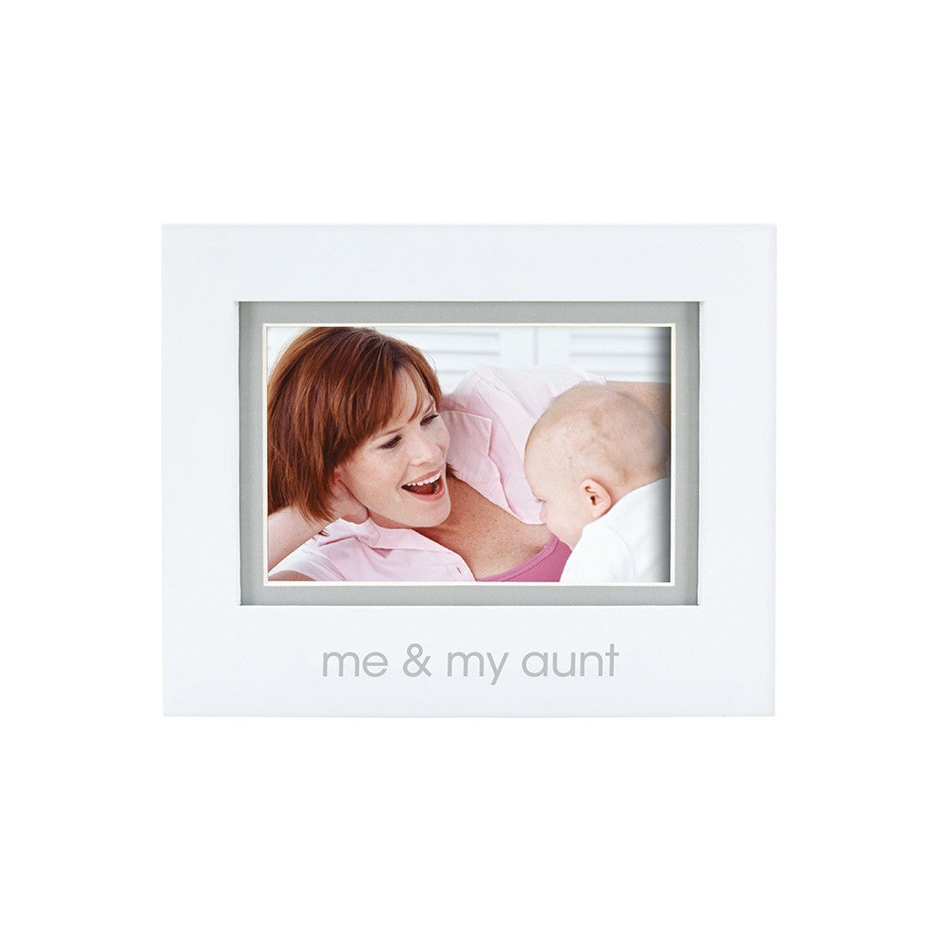 pearhead's me & my aunt sentiment frame