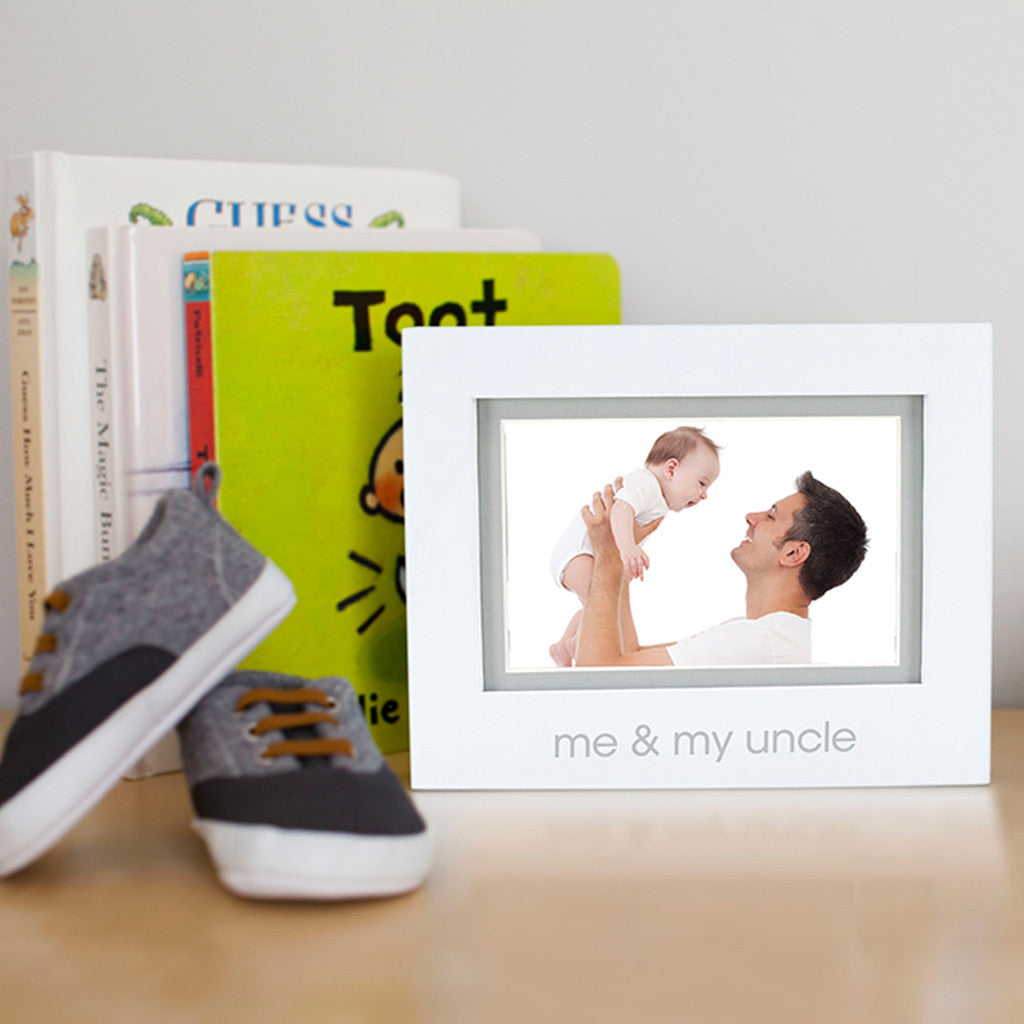 me & my uncle sentiment frame – Pearhead