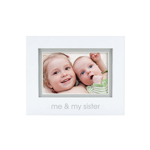 pearhead's me & my sister sentiment frame