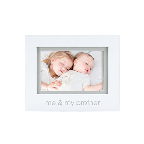 pearhead's me & my brother sentiment frame