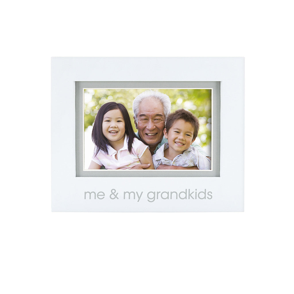 pearhead's me & my grandkids sentiment frame