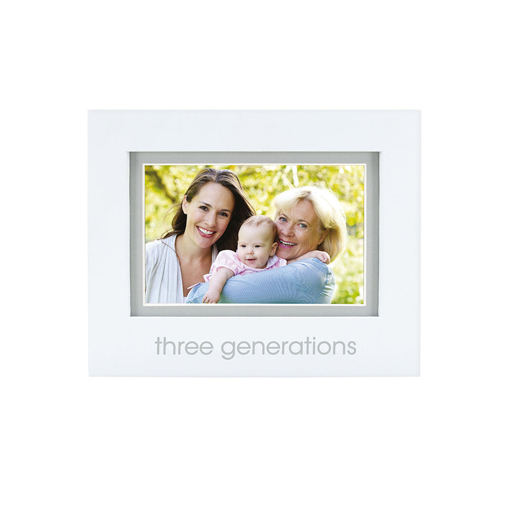 pearhead's three generations sentiment frame