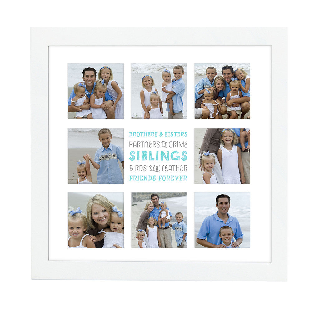 pearhead's siblings collage frame