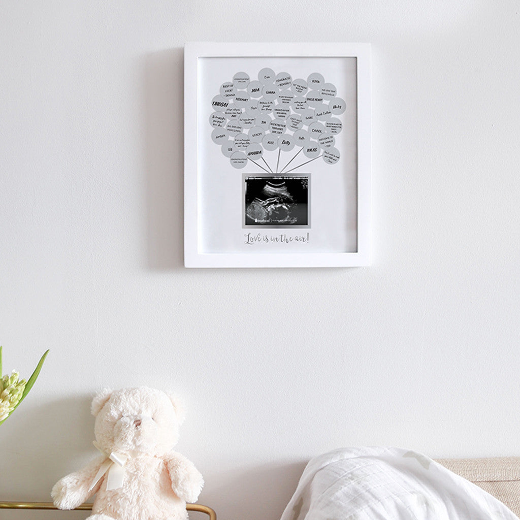 baby shower guest frame – Pearhead