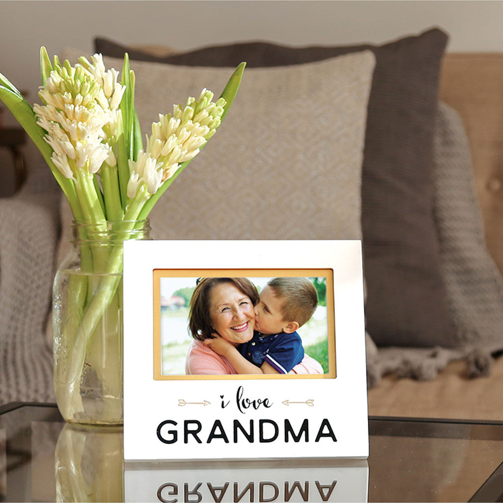 I Love Grandma Photo Frame Pearhead