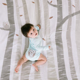 pearhead's watch me grow photo blanket