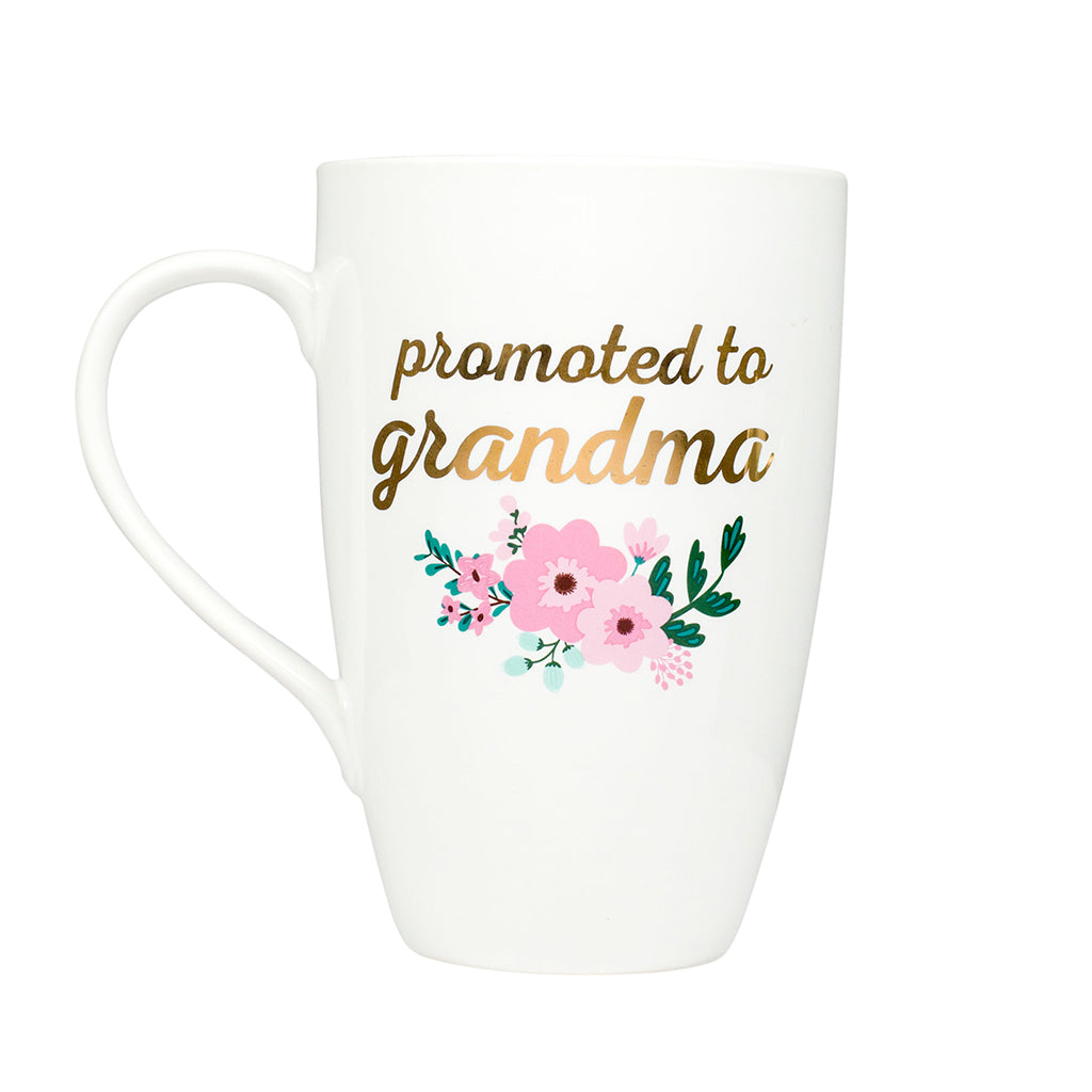 pearhead's promoted to grandma mug