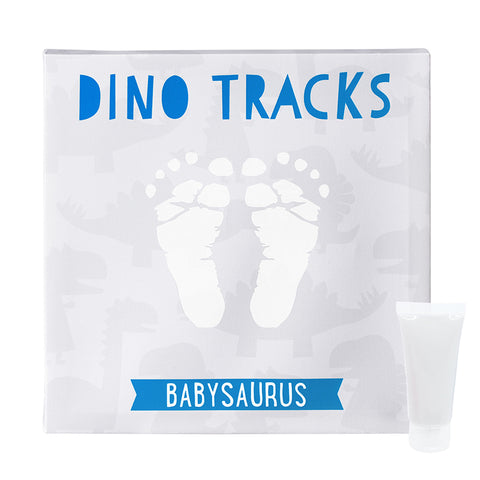 pearhead's dino babyprints wall art