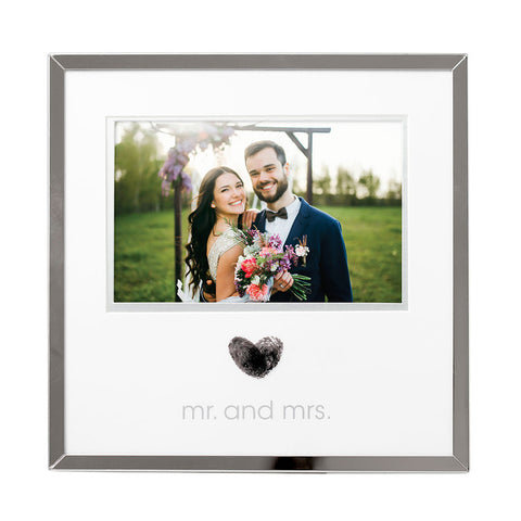 Pearhead's wedding thumbprint frame