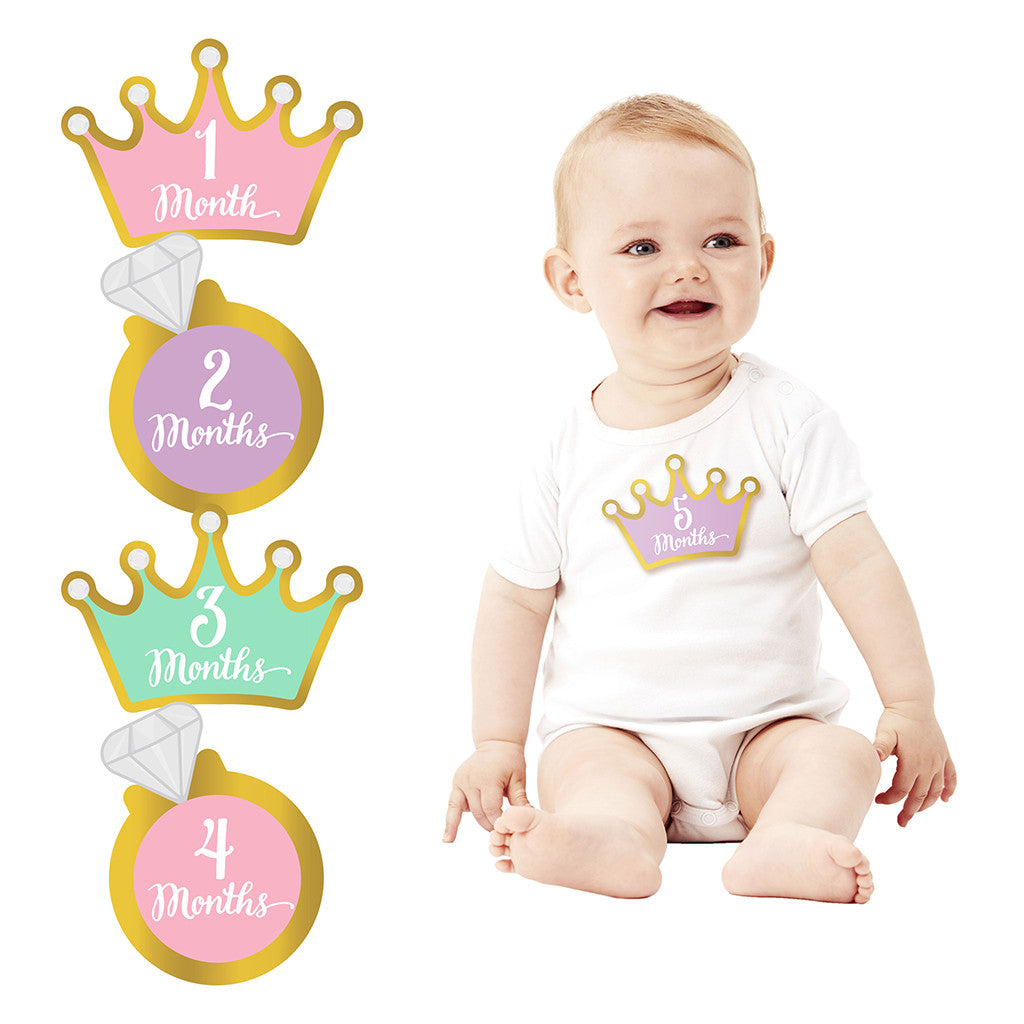 pearhead's little princess belly stickers