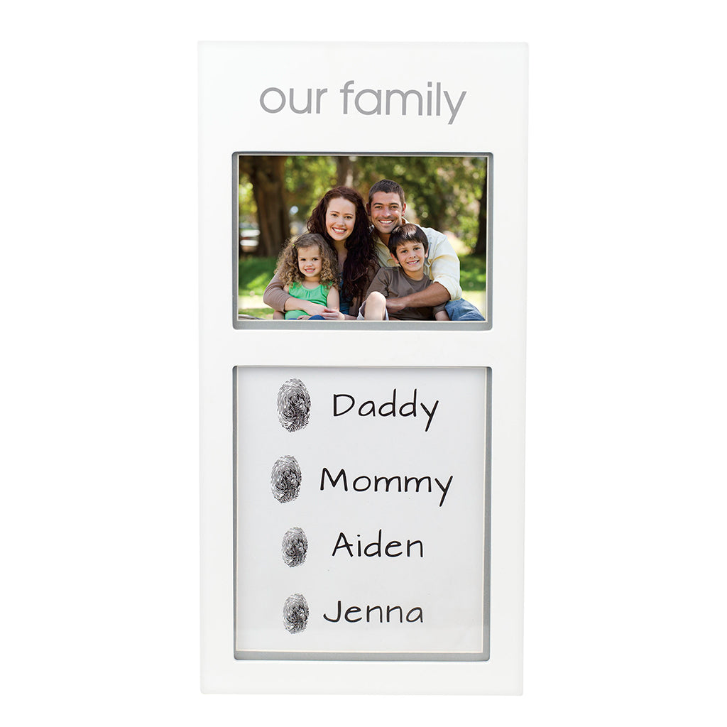 pearhead's our family prints frame