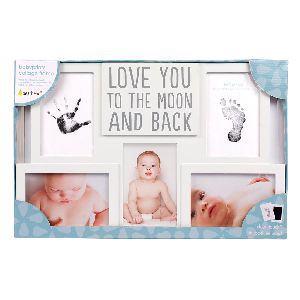 Pearhead Love You to The Moon and Back Baby Keepsake Picture Frame ...