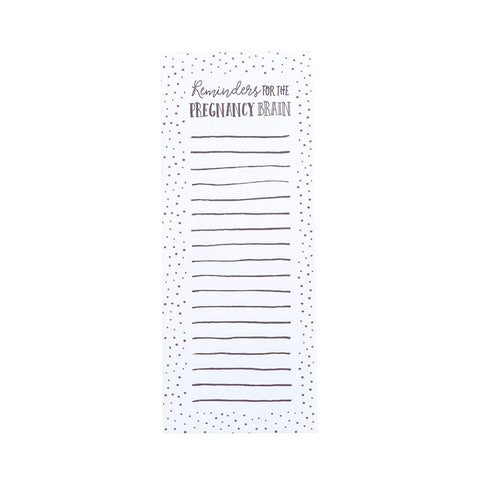 "Pearhead's ""reminders for the pregnancy brain"" notepad"