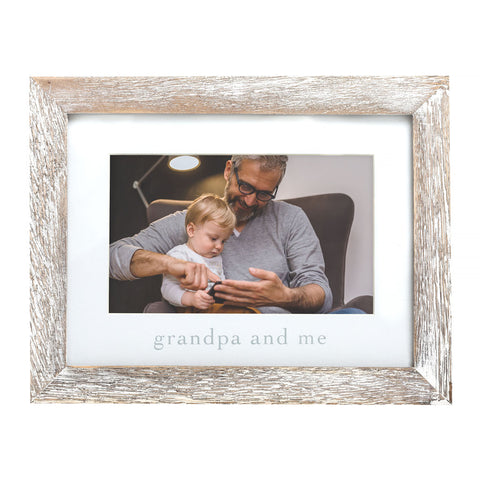 "Pearhead's ""grandpa and me"" sentiment frame"